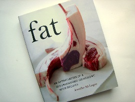 """Book cover for """"Fat"""" by Jennifer McLagan"""