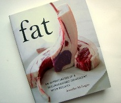 "Book cover of ""Fat"" by Jennifer McLagan"