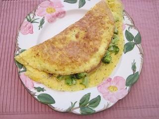 stuffing omelette